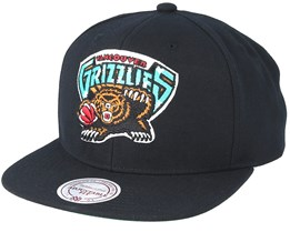 Vancouver Grizzlies Wool Solid Black Snapback - Mitchell & Ness