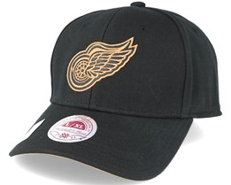 Detroit Red Wings TKO Twist Black Flexfit - Mitchell & Ness