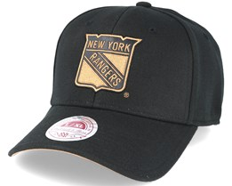 New York Rangers TKO Twist Black Flexfit - Mitchell & Ness