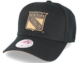 New York Rangers TKO Twist Black Flexfit - Mitchell & Ness