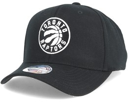 Toronto Raptors Black & White 110 Adjustable - Mitchell & Ness