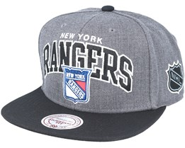 New York Rangers G2 Team Arch Snapback - Mitchell & Ness