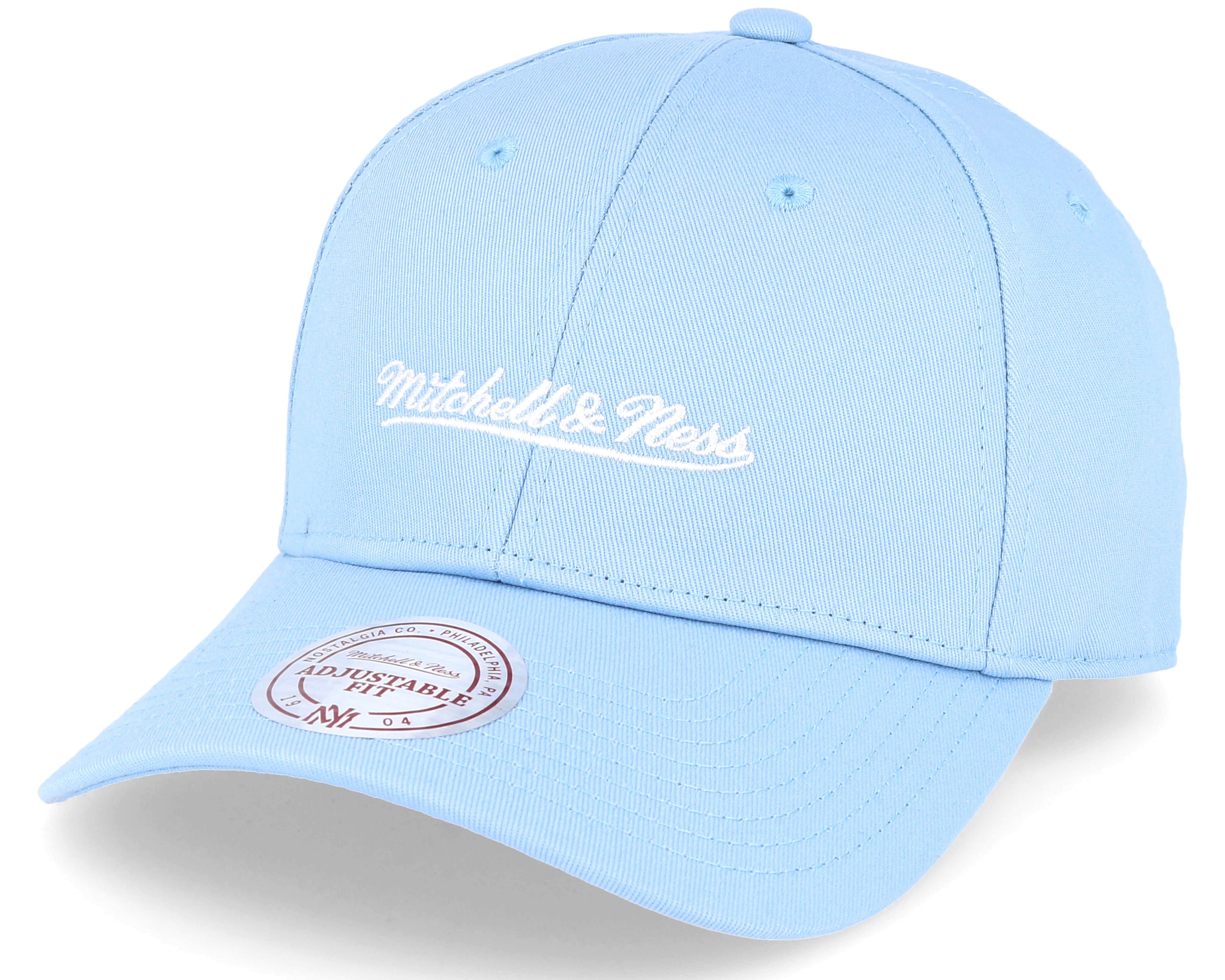 027a36ff4a0 Low Pro Strapback Blue Adjustable - Mitchell   Ness caps