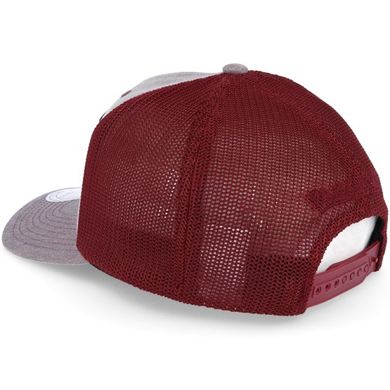 997ade77f62 Cleveland Cavaliers Washout 110 Flexfit Burgundy trucker Adjustable -  Mitchell   Ness caps