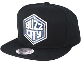 Buzz City Dark Hologram Snapback - Mitchell & Ness