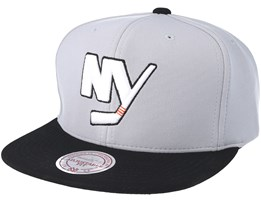 New York Islanders The Cloud Grey Snapback - Mitchell & Ness