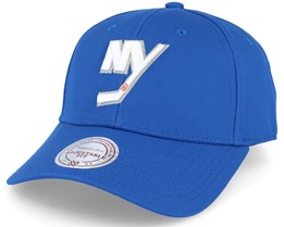 New York Islanders Team Logo Low Pro Strapback Blue Adjustable - Mitchell & Ness