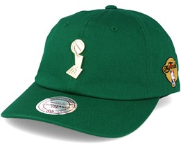 Boston Celtics Championship Brooch Dad - Mitchell & Ness