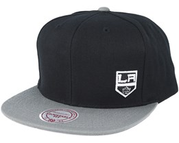 Los Angeles Kings Little Logo Black Snapback - Mitchell & Ness