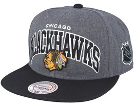 Chicago Blackhawks G2 Team Arch Snapback - Mitchell & Ness