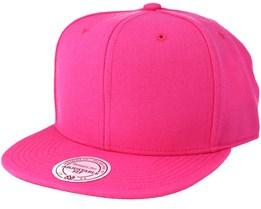 Blank Pink Snapback - Mitchell & Ness