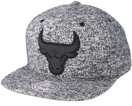 Chicago Bulls Ease Grey Snapback - Mitchell & Ness