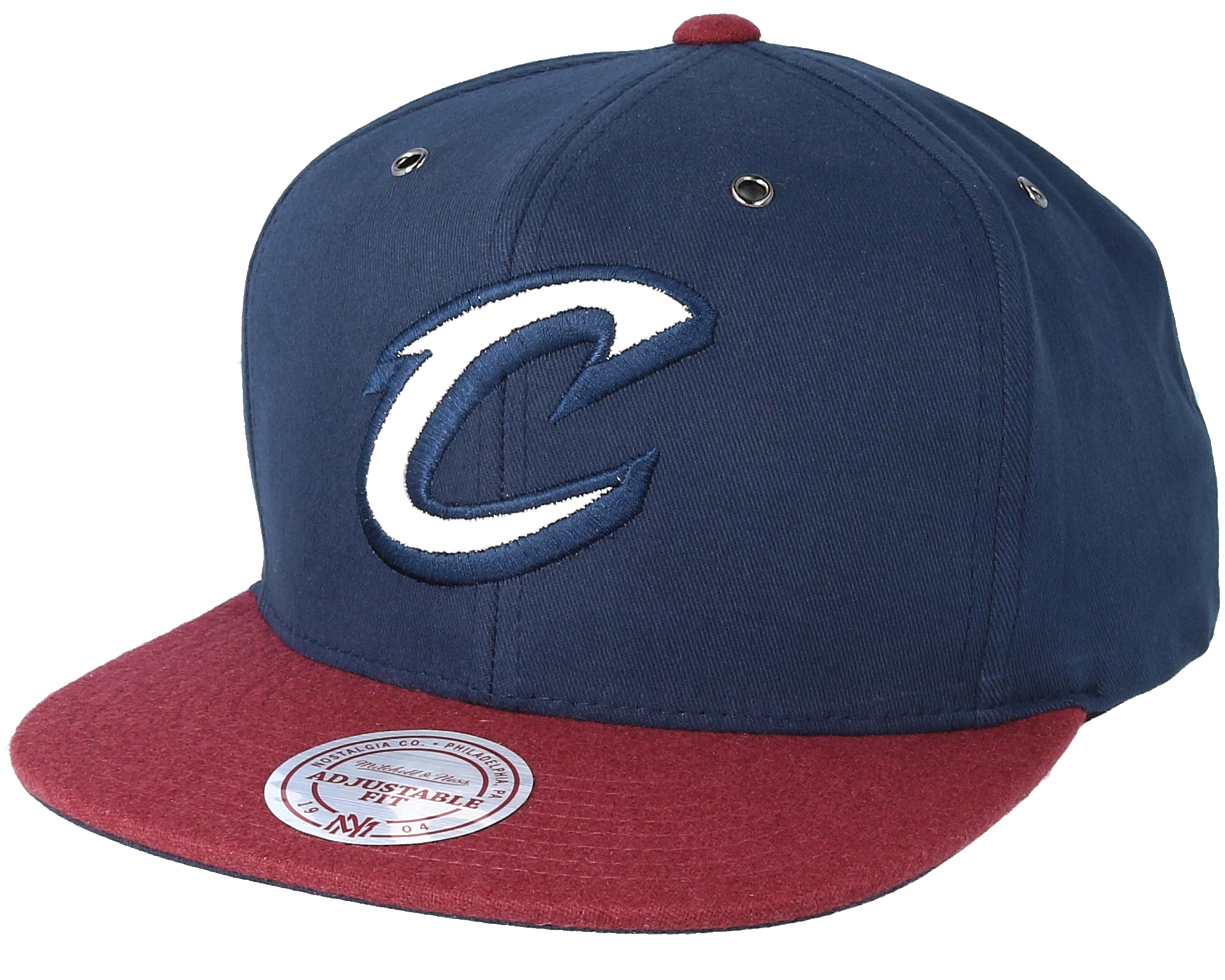 49803dfcce7 Cleveland Cavaliers Terrain Navy Snapback - Mitchell   Ness caps ...