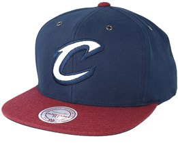 Cleveland Cavaliers Terrain Navy Snapback - Mitchell & Ness