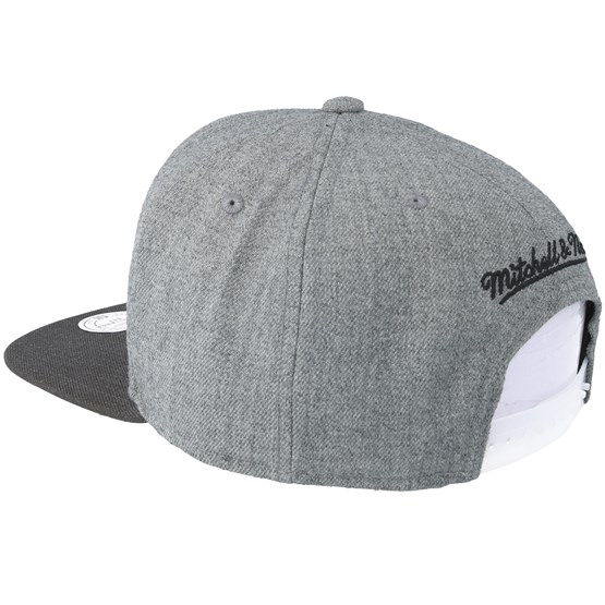 official photos dca51 9c381 31136 6446b  coupon detroit pistons heather reflective grey snapback  mitchell ness caps hatstore cef8f 92671
