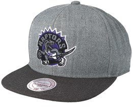 Toronto Raptors Heather Reflective Grey Snapback - Mitchell & Ness