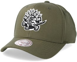 Toronto Raptors Hwc Olive 110 Adjustable - Mitchell & Ness