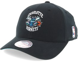 Charlotte Hornets Flexfit 110 Low Pro Adjustable - Mitchell & Ness