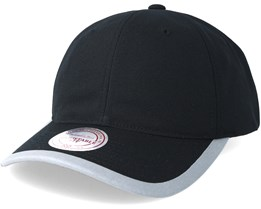 Running Reflective Trim Slouch Black Adjustable - Mitchell & Ness
