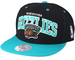 Vancouver Grizzlies Team Arch Snapback - Mitchell & Ness