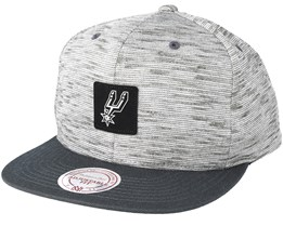 San Antonio Spurs Brushed Melange Snapback - Mitchell & Ness