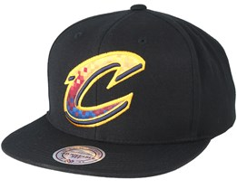 Cleveland Cavaliers Easy Three Digital XL Black Snapback - Mitchell & Ness