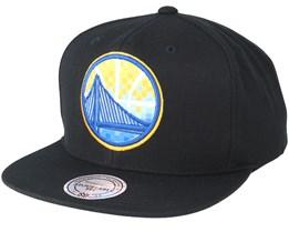 Golden State Warriors Easy Three Digital XL Black Snapback - Mitchell & Ness