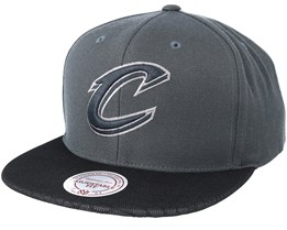 Cleveland Cavaliers Hologram Mesh Stop On Dime Charcoal Snapback - Mitchell & Ness
