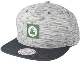 Boston Celtics Brushed Melange Snapback - Mitchell & Ness
