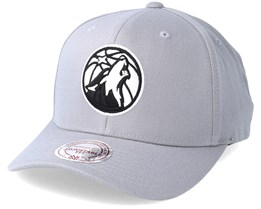 Minnesota Timberwolves Gull Grey Adjustable - Mitchell & Ness
