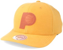 Indiana Pacers Gum Yellow Adjustable - Mitchell & Ness