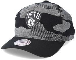 Brooklyn Nets Knit 110 Camo Adjustable - Mitchell & Ness
