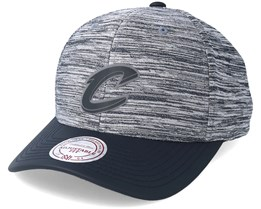 Cleveland Cavaliers Swish Grey/Navy Adjustable - Mitchell & Ness
