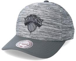 New York Knicks Swish Grey/Grey Adjustable - Mitchell & Ness
