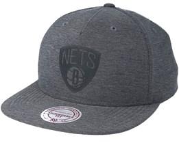 Brooklyn Nets Active Grey Snapback - Mitchell & Ness