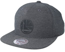 Golden State Warriors Active Grey Snapback - Mitchell & Ness