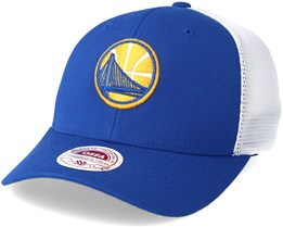 Golden State Warriors Trucker Mesh Royal Flexfit - Mitchell & Ness