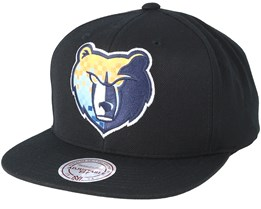 Memphis Grizzlies Easy Three Digital XL Black Snapback - Mitchell & Ness