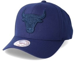Chicago Bulls Flexfit 110 Navy  Adjustable - Mitchell & Ness