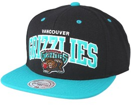 Vancouver Grizzlies Team Arch Black Snapback - Mitchell & Ness