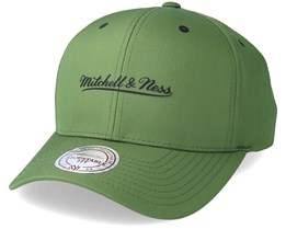 Poly Low Pro Olive Adjustable - Mithcell & Ness