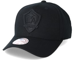 LA Galaxy Flexfit 110 Black Adjustable - Mitchell & Ness