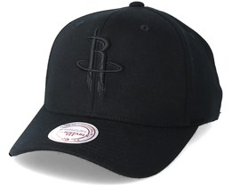 Houston Rockets Flexfit 110 Black Adjustable - Mitchell & Ness