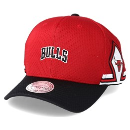 c150f1c458f Mitchell   Ness Chicago Bulls Jersey Hook   Loop Red Adjustable - Mitchell    Ness £29.99
