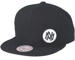 Little Logo Black Snapback - Mitchell & Ness