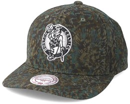 Boston Celtics Abstract Camo Adjustable - Mitchell & Ness