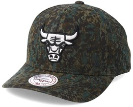 Chicago Bulls Abstract Camo Adjustable - Mitchell & Ness