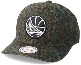Golden State Warriors Abstract Camo Adjustable - Mitchell & Ness