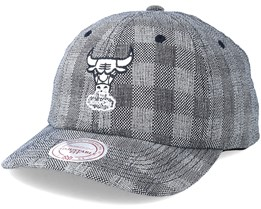 Chicago Bulls Cube Demin Grey Adjustable - Mitchell & Ness