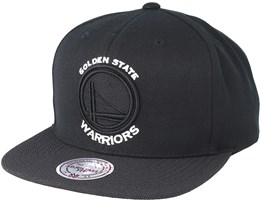 Golden State Warriors Full Dollar Black Snapback - Mitchell & Ness